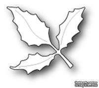 Ножи от Poppystamps - Holly Leaf Branch craft die