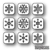 Ножи от Poppystamps - Snowflake Tabs craft die