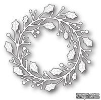 Ножи от Poppystamps - Home for the Holidays Wreath craft die