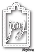 Нож для вырубки от Poppystamps - Joy Tag
