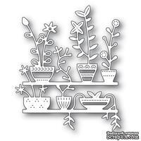 Нож от Poppystamps - Spring Pots Shelves
