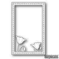 Ножи от Poppystamps - Garden Poppy Stitched Frame Memory Box