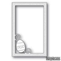 Нож от Poppystamps - Decorated Egg Stitched Frame