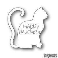 Нож для вырубки от Poppystamps - Happy Halloween Cat