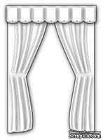 Нож для вырубки от Poppystamps - Plush Curtains