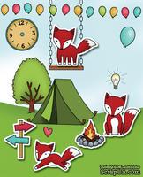 Резиновый штамп от Poppystamps -  A Fox Tale