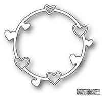 Нож для вырубки от Poppystamps - Heart Circle
