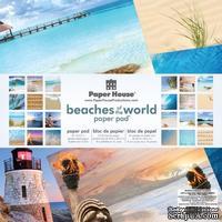 Набор скрапбумаги от Paper House - Beaches of the World Paper Pad, 30,5x30,5 см, 24 шт