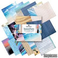 Набор односторонней скрапбумаги от Paper House - Beach Paper Pad, 15,2x15,2 см, 36 шт