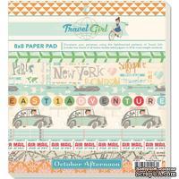 Набор бумаги от October Afternoon - Paper Pad, 24 л.
