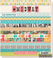 Набор бумаги October Afternoon - Midway, 20х20 см, 24 листа