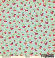 "Лист двусторонней скрапбумаги от October Afternoon - ""Farm Girl"" Collection - Patchwork, 30х30"