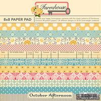 Набор скрапбумаги от October Afternoon - Farmhouse, 20х20 см, 46 листов