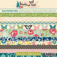 Набор бумаги October Afternoon - Woodland Park, 20х20 см, 46 листов