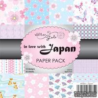 Набор односторонней бумаги от Wild Rose Studio - Jupan - 15х15 см