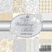 Набор бумаги от Wild Rose Studio - Wedding Bells - 15х15 см