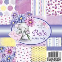 Набор бумаги от Wild Rose Studio - Bella - 15х15 см