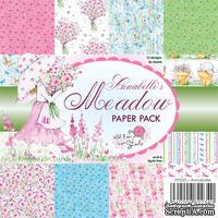 Набор бумаги от Wild Rose Studio - Annabelle's Meadow - 15х15 см