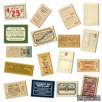 Набор бумажных элементов 7 Gypsies - Mini Ephemera Receipts