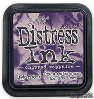 Штемпельная подушка Ranger Distress Ink Pad -Chipped Saphire