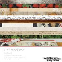 Набор односторонней скрапбумаги от Kaisercraft - Bon Appetit, 16,5x16,5 см