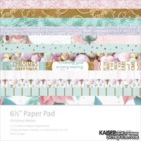 Набор бумаги от Kaisercraft - CHRISTMAS WISHES, 16,5х16,5 см