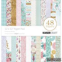 Набор односторонней скрапбумаги от Kaisercraft - Christmas Wishes, 30,5 x  30,5 см