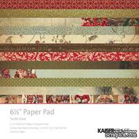 Набор скрапбумаги от Kaisercraft - Turtle Dove Paper Pad, 16х16 см, 36 листов