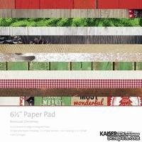 Набор скрапбумаги от Kaisercraft -Paper Pad - Basecoat Christmas, 16,5х16,5 см, 40 листов