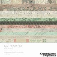Набор скрапбумаги от Kaisercraft - Rustic Harmony Paper Pad, 16,5 х 16,5 см.