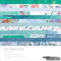 Набор бумаги от Kaisercraft - Mermaid Tails, 16,5х16,5 см
