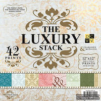 Набор бумаги DCWV - Luxury Paper Stack, 30х30 см, 21 лист