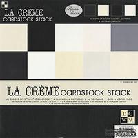 Набор кардстока DCWV - La Creme Cardstock Stack, 30х30 см, 24 листа