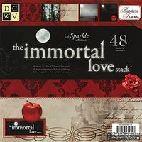 Набор бумаги DCWV - Immortal Love Paper Stack, 30х30 см, 24 листа