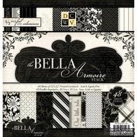 Набор бумаги DCWV - Bella Armoire, 30х30 см, 24 листа