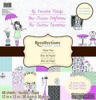 Набор скрапбумаги от Recollections™ - My Favorite Things, 30х30 см, 24 листа