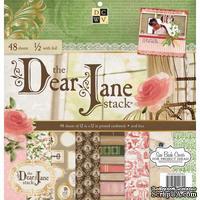 Набор бумаги DCWV - Dear Jane, 30х30 см, 24 листа