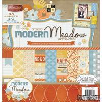 Набор бумаги DCWV - Modern Meadow, 30х30 см, 24 листа