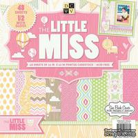 Набор бумаги DCWV - Little Miss, 30х30 см, 24 листа