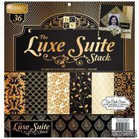 Набор бумаги DCWV - Luxe Suite, 30х30 см, 24 листа