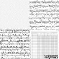 Лист ацетатный от Kaisercraft - Four Corners, 30х30 см