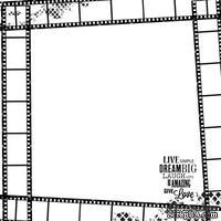 Ацетатный прозрачный лист от Kaisercrat - PICTURE - CLOSE UP ACETATE 12, 30х30 см