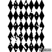 Штамп от Питерского скрапклуба - Винтажный Ромб