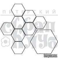 Штамп от Питерского скрапклуба - Пчелиные Соты