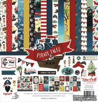 Набор бумаги и декора от Echo Park Pirate Tales, 30x30 см