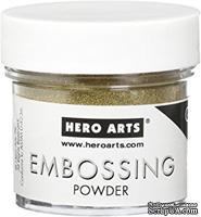 Пудра для горячего эмбоссинга от Hero Arts  - Gold