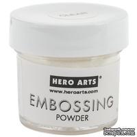 Пудра для горячего эмбоссинга от Hero Arts  - Clear (прозрачная)