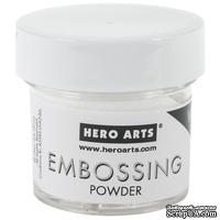 Пудра для горячего эмбоссинга от Hero Arts  - White (белая)