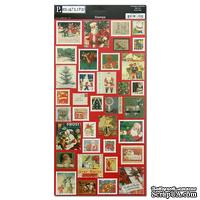 "Наклейки Pebbles ""Reallife Cardstock Stickers"" Stamps - Christmas"