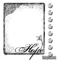 Акриловый штамп от компании Prima - Hope